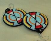 Double Tipi Rosette Earrings