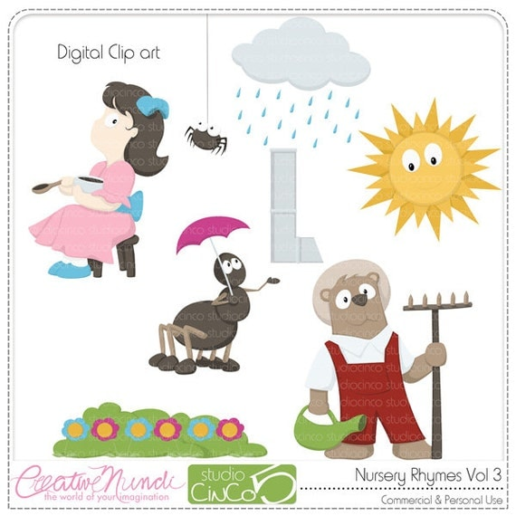 free clipart images nursery rhymes - photo #38