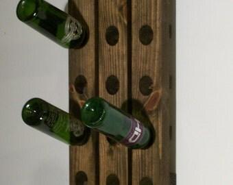Wall Wine Rack Rustic Wine Riddling Rack