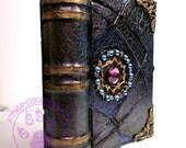 Hidden Treasure Spell Book Box   - Grimoire of  Anubis