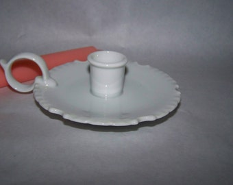 Vintage Rynnes China Candle Holder White Candle Holder Japan