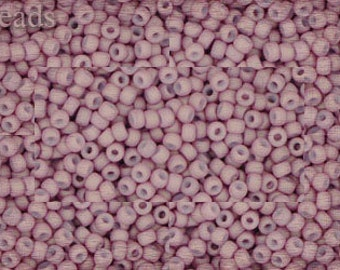 11/0 TOHO seed beads 10g Toho beads 11/0 seed beads Opaque Pastel 11-765 Pale Pink Frosted Matte beads