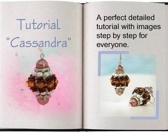 Jewelry Tutorial.... Cassandra... Earring