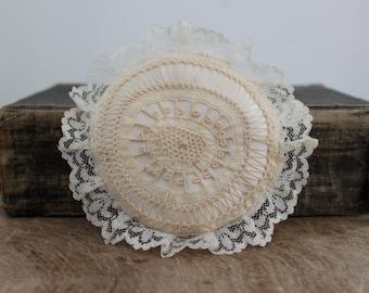 Antique handmade pincushion