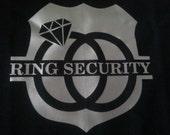 Ring Bearer: Ring Security - T-Shirt (Sizes 12M-5/6)