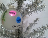 Personalized Ornament Family