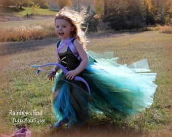 Merida the Brave Tutu Dress size  12-18m, 18-24m, 2t, 3t, 4t, 5t, 6
