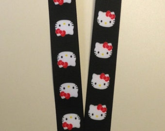 Hello Kitty lanyard for your ID or Badge Holder