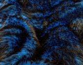 Third Yard Blue Husky Shag Fur