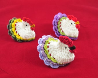 Crochet pattern Easter Crochet Chicken by Zofija