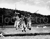 Vintage WWII Photography  - Rare Trench Warfare Training