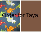Order for Taya