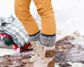 Crochet Custom Boot Cuffs