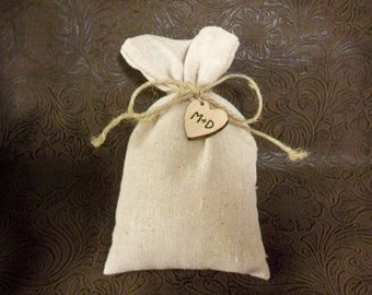 Wedding Favor Bags, Linen Gift Bag, Rustic Wedding Bags, Linen Bags, Party Favor Bags, Bridesmaids Gift, Wedding Accessory, Gift Bags