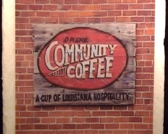 Community Coffee New Orleans Coaster