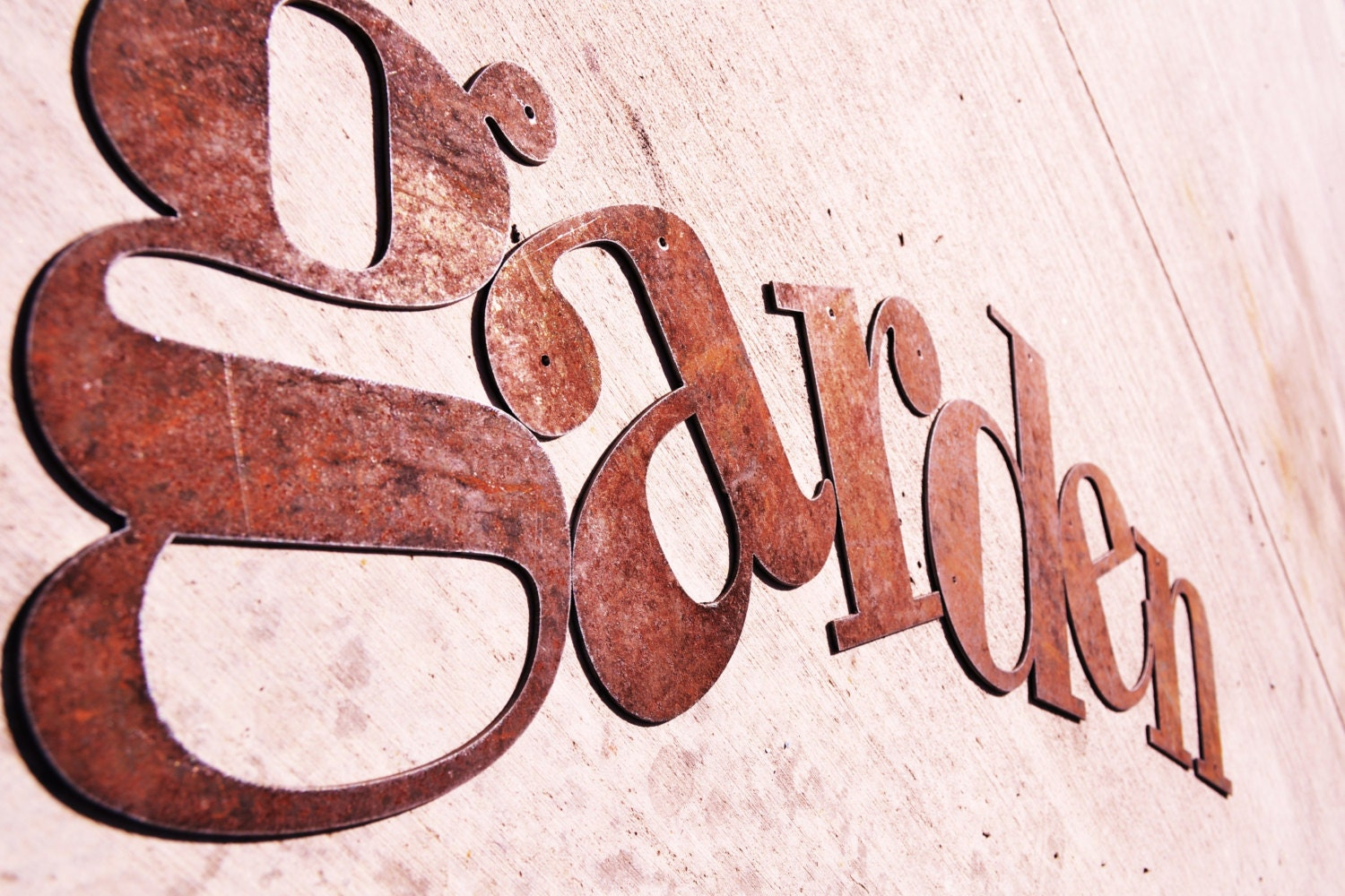 Rusty metal letters 18 sizing for 18 inch metal letters
