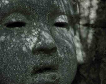 Faces, Vander Veer,  8 x 10, Garden Sculpture Photos