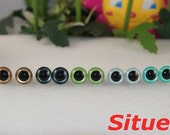 10 pairs  10.5mm  fantasy color safety eyes  for felt wool doll-1 pairs for each