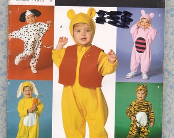 Simplicity 0688 Baby Toddler Halloween Costume Winnie The