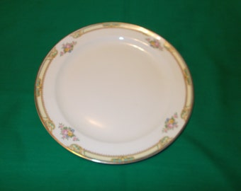 "Two (2), 7 3/8"" Salad Plates, from Taylor, Smith, Taylor, in the TST 11 Pattern."