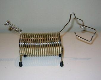 Vintage Wire Scottie Dog