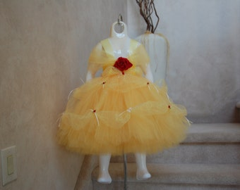 My First Belle Inspired Tutu Dress