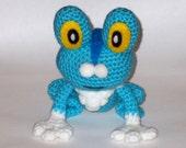 Froakie Crochet Plush