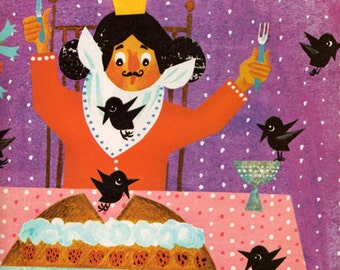 Mother Goose Rhymes illustrated by Krystyna Stasiak-Orska