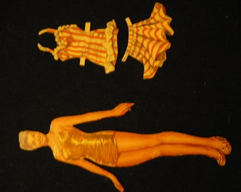 Vintage movie star paper dolls - Esther Williams and Betty Grable
