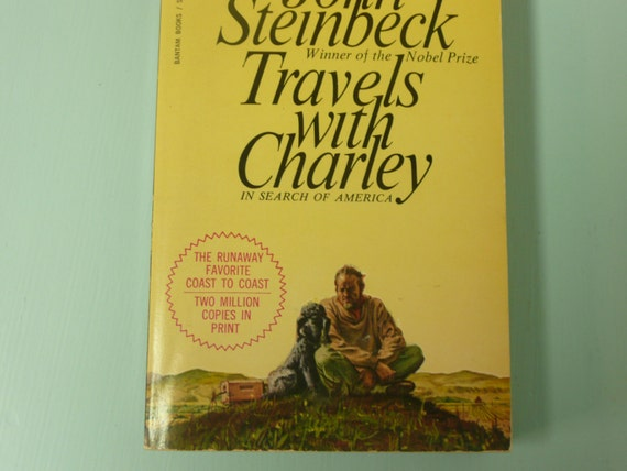 1962 John STEINBECK, Travels With Charley in Search of America, Book ...