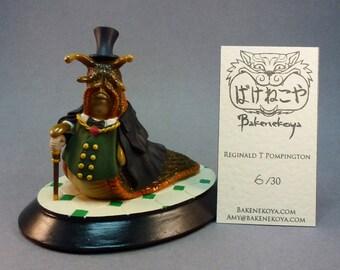 Reginald T Pompington the gentleman slug - Limited edition.