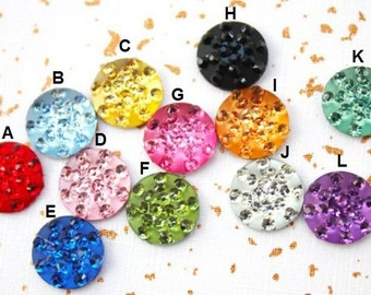 Jewel Crystal Rhinestone for iphone home button sticker for all Apple iPhone 3, 4, 4s, 5, 5s, 6, 6s for iPad Mini for iPod Touch