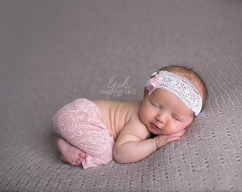 Newborn Pants, Newborn Pant Set, Newborn Lace Pants, Newborn Crochet Pants, baby photo prop, Newborn Photo Prop, Newborn Leggings