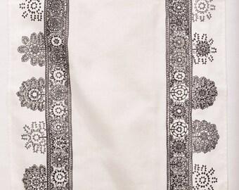 Tea Towel, Lace Pattern