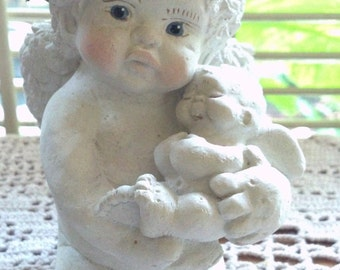 Vintage Dreamsicles Cherub Angel Cast Art By Kristin Haynes - il_340x270.500481215_9ydk