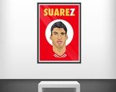 Suarez No.7 - SRA3 Print