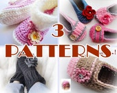 Pick Your 3 Crochet  Patterns