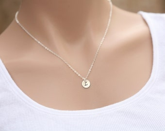 Tiny initial letter charm,Personalized,14k gold,Monogram Initial,Bridal Jewelry, Bridesmaids gifts,Wedding Jewelry