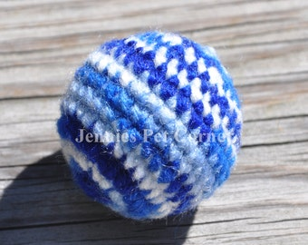 Cat Toys - Cat Toy Balls - Shaded Blues Color