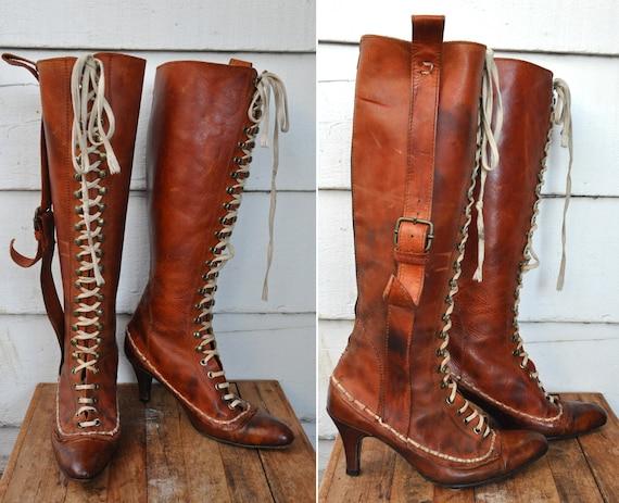 Vintage Italian Boots 96