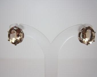 Yellow Labradorite Earrings