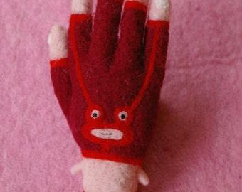 Mexican wrestler hand