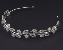 Tiara, Bridal Headpiece, Headpiece, Wedding Headpiece, Wedding Tiara, Sweet 16, Crown
