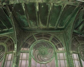 Carousel House Study No. 5 - Jersey Shore - Verdigris - Asbury Park NJ Architecture Photograph