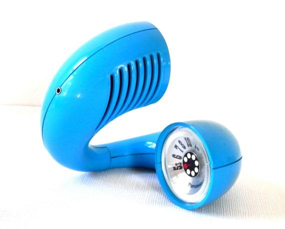 Mid Century Modern Toot-a-loop Panasonic Radio Turquoise Blue