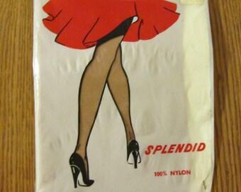 Nyon Splendid Seamless Hose Vintage 50s