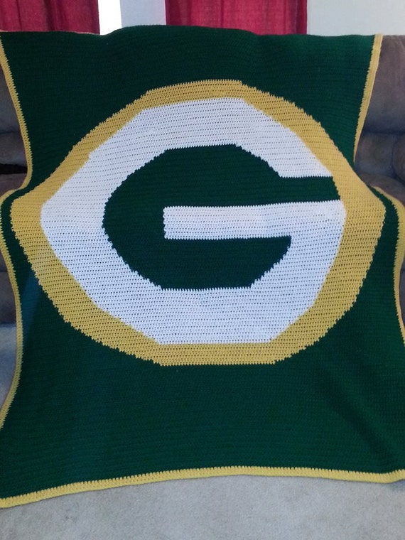 Crochet Pattern Green Bay Packer Afghan : Unavailable Listing on Etsy