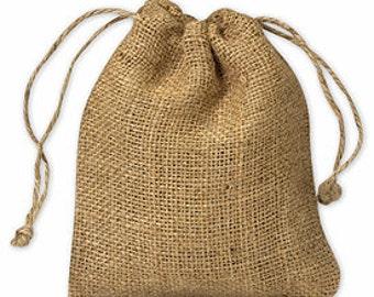 Burlap Favor Bags (5x6)