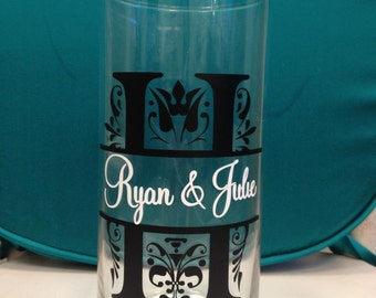 Custom Monogram Family Name Vinyl Decals