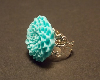 Victorian Flower Ring